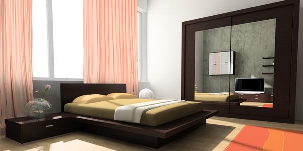 tips dekorasi kamar tidur kecil rancangan desain rumah