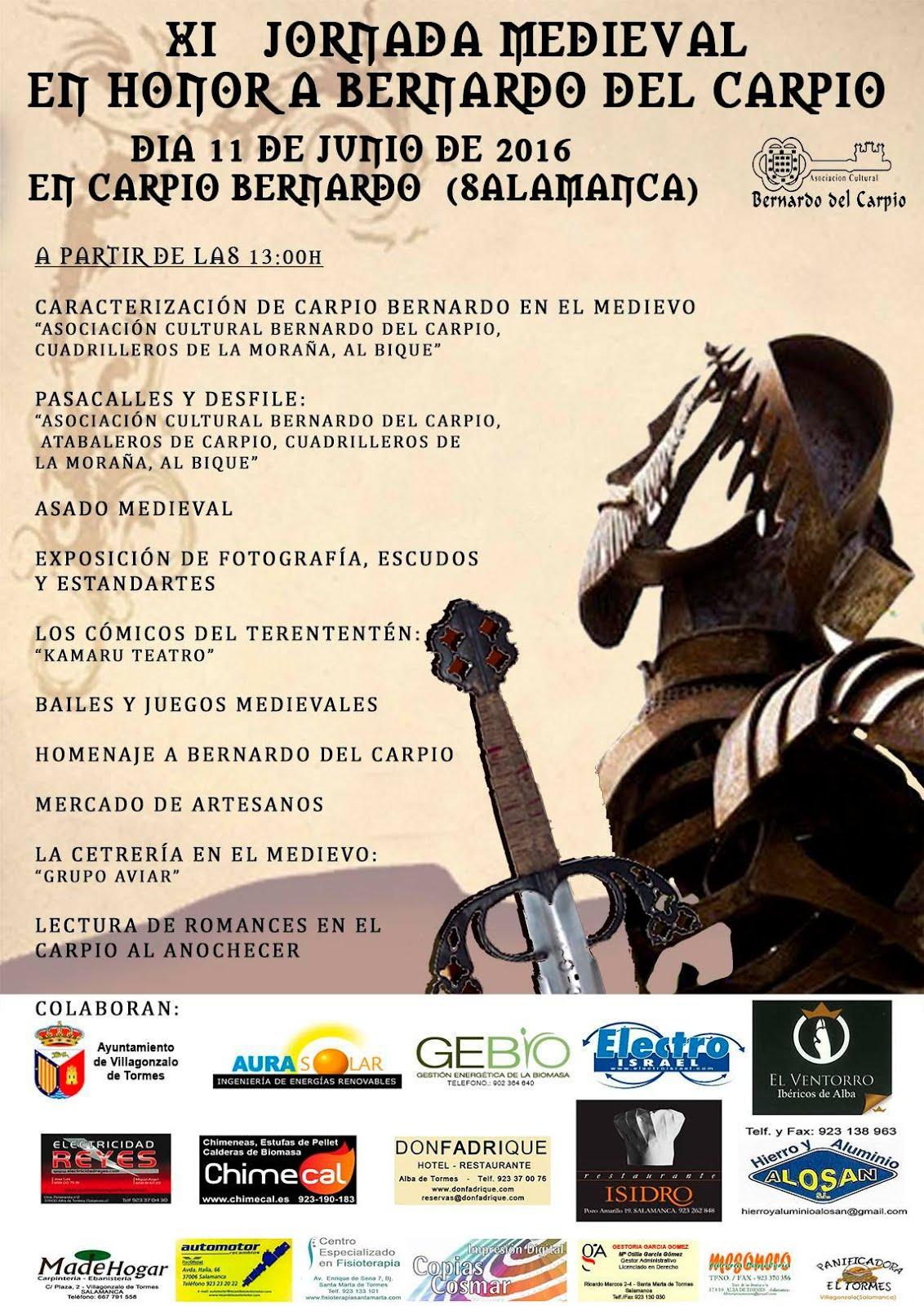 XI Jornadas Medievales en Honor a Bernardo del Carpio