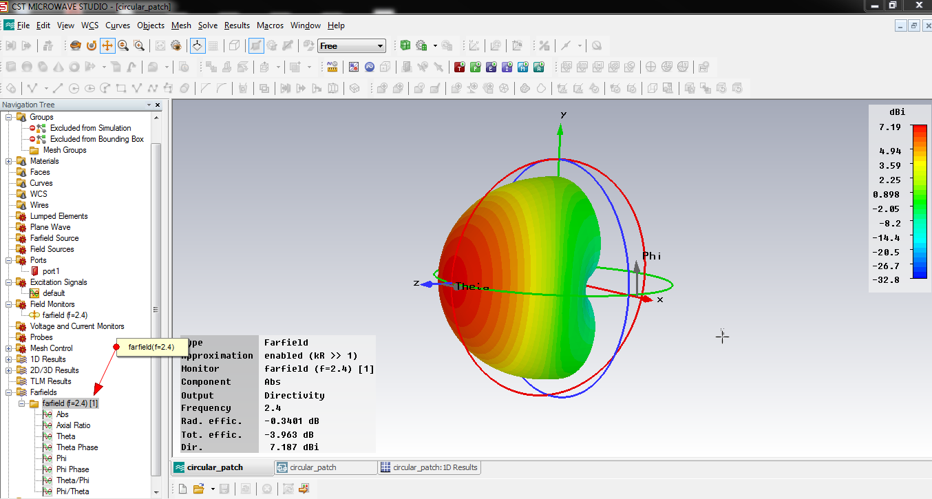 Design Patch Antenna Using Ansoft Designer