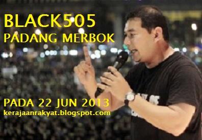 BLACK505 PADANG MERBOK PADA 22 JUN 2013