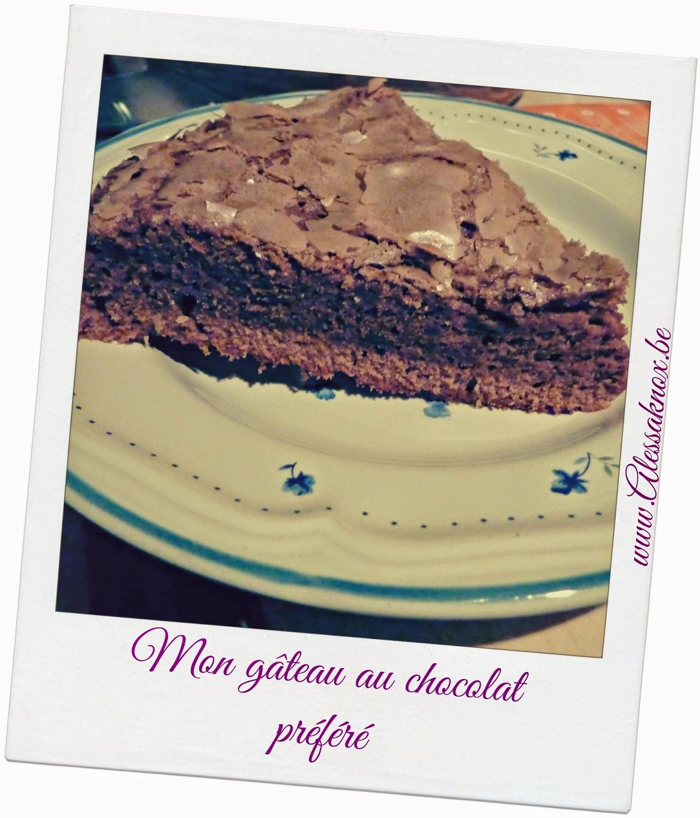 recette, gâteau, chocolat, facile, pas cher