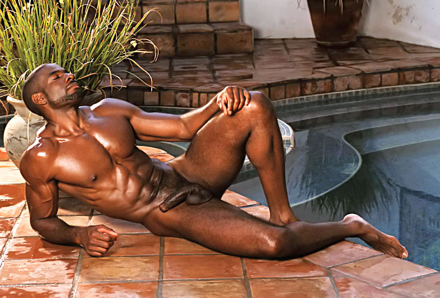 Nude naked adonis adam
