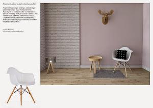 pokój w stylu skandynawskim
