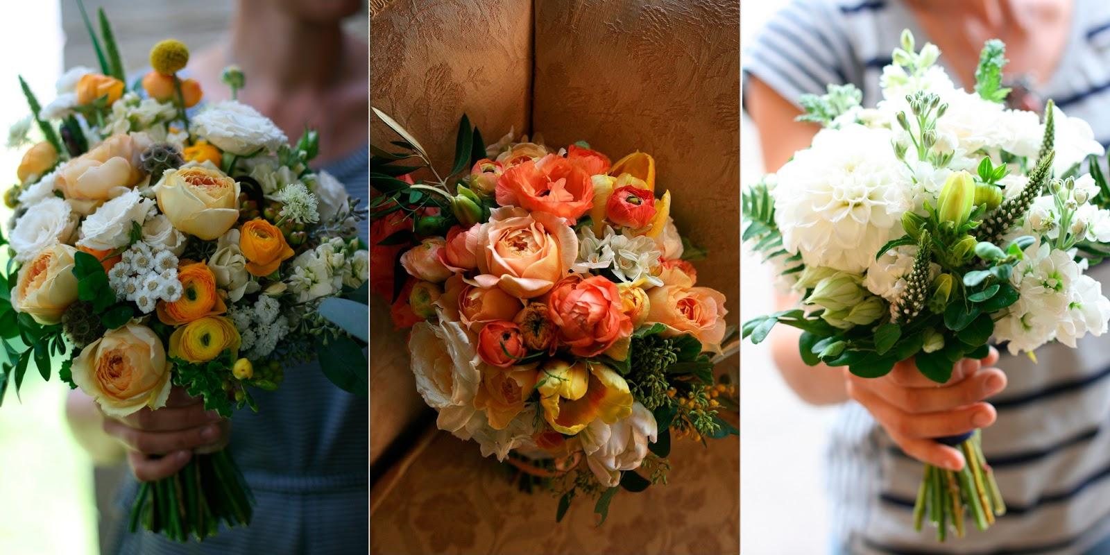 Свадебные букеты фото из полевых цветов