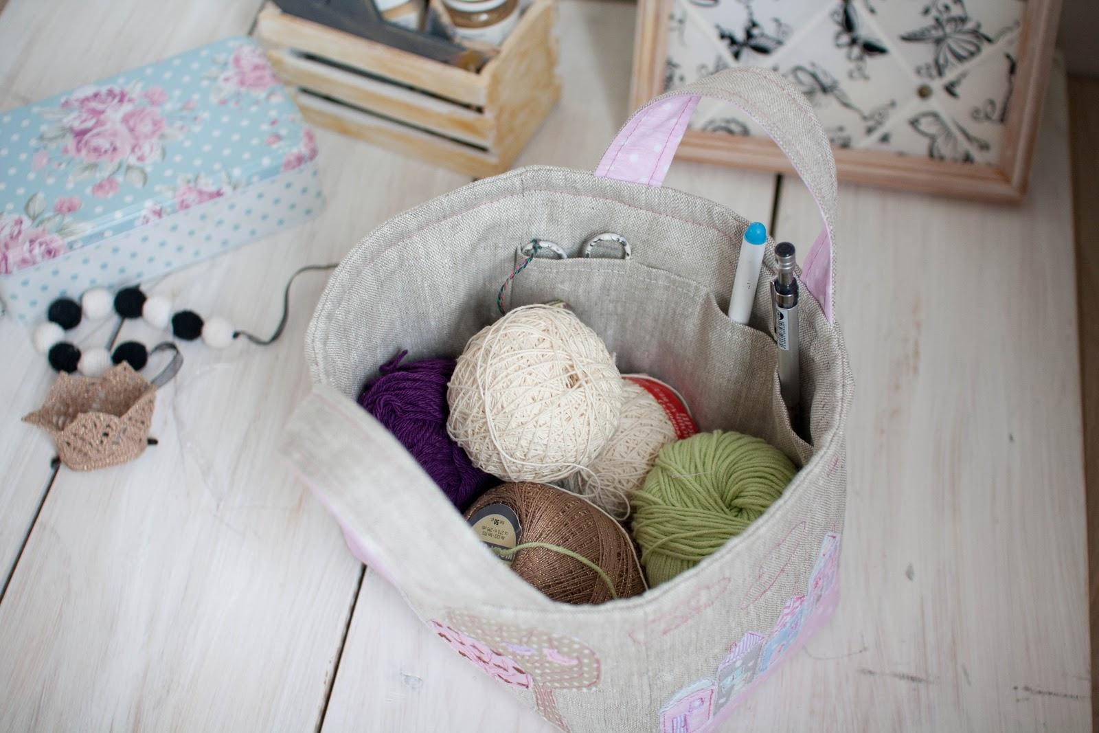 Корзина для игрушек своими руками из ткани