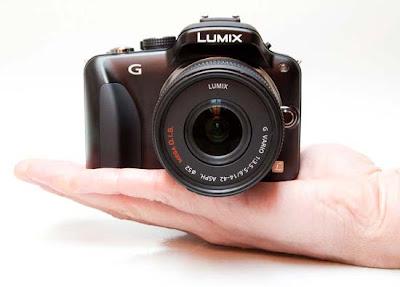 Fotografia della Panasonic G3