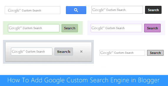 Google Custom Search Engine in Blogger