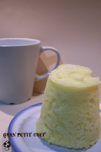 Cocina f cil sin gluten bizcocho a la taza al microondas - Bizcocho microondas 3 minutos ...