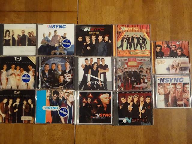 nsync albums, nsync CDs