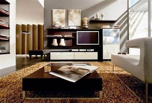 Ruang keluarga minimalis 3