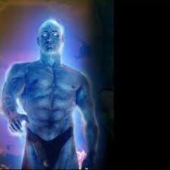naked blue guy in watchmen