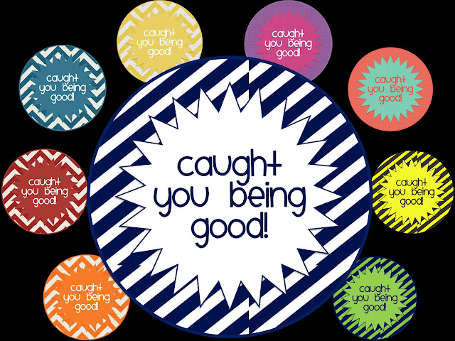 Simply 2nd Resources: Caught You Being Good!