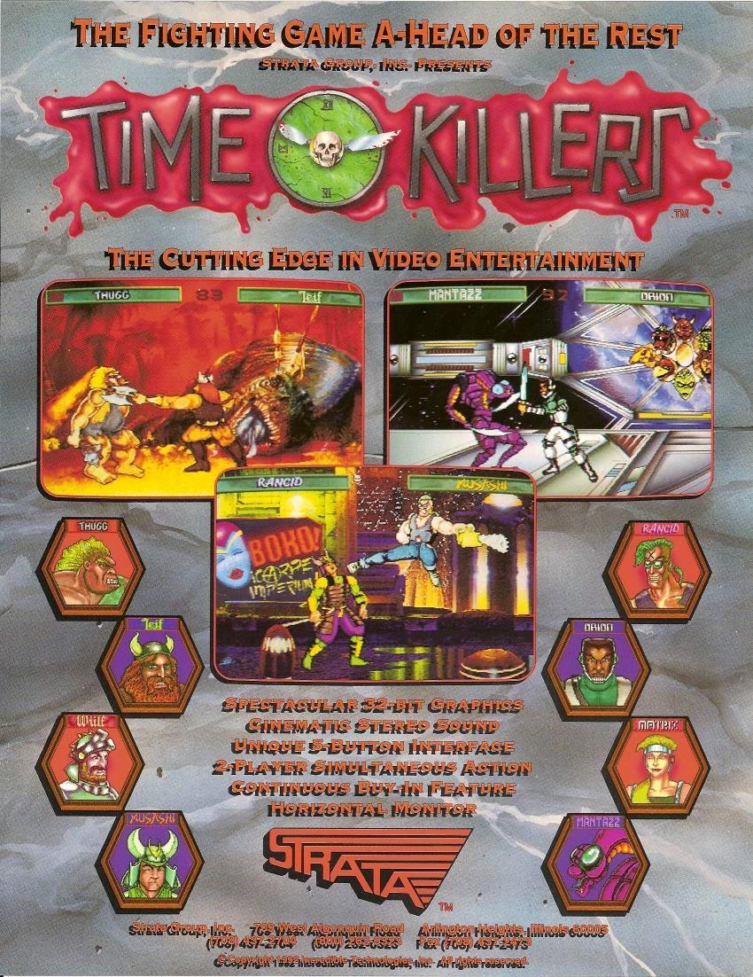 time killer arcade game portable