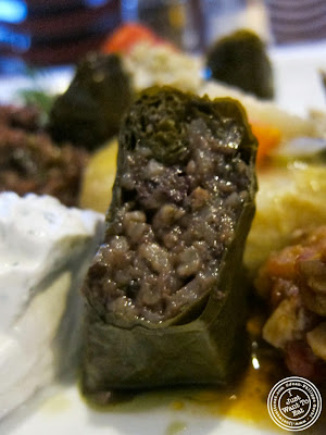 image of grape leaves at Roka Turkish Cuisine in Kew Gardens, NY