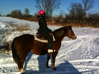 Winter Riding on the Farm