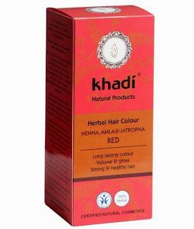 Tinte capilar vegetal Khadi