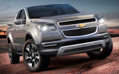 Chevrolet Colorado Concept front