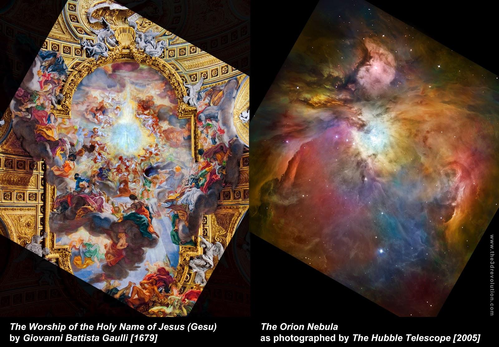 orion nebula and human brain - photo #6