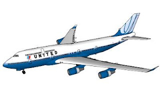 Trimble 3D Warehouse - United Airlines Boeing Airplane