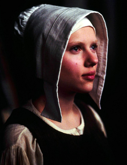 hollywood visage girl with a pearl earring 2003
