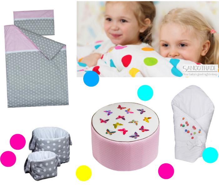 Kuschlige Decken und Accessoires fürs Kinderzimmer von SangoTrade. (Verlosung)
