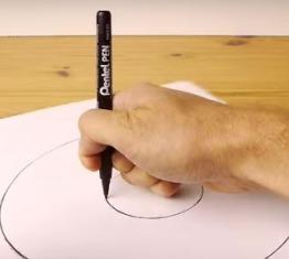Tips bikin lingkaran tanpa jangka