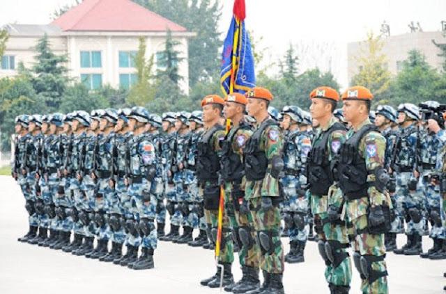 Paskhas Bikin Tentara China Salut