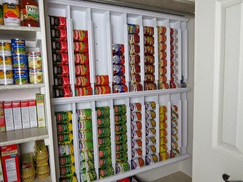 I Found This On The Internet And Thought I Would Pass It Along. It Is A  Very Helpful Way To Store Your Caned Food Storage Vertically.