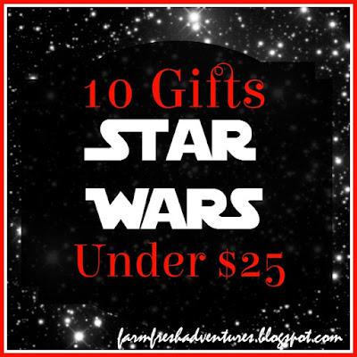 10 Star Wars Gifts Under $25