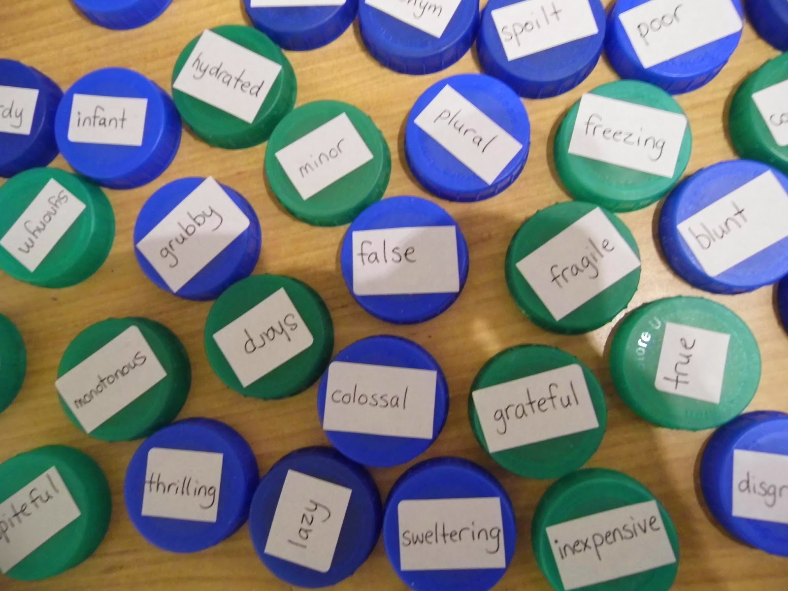 Worksheet Antonym For Simple mrs kirvars creative corner antonyms matching game the simple idea is to match up pairs as quickly you can i made some particularly tricky for a challenge so kids might need to