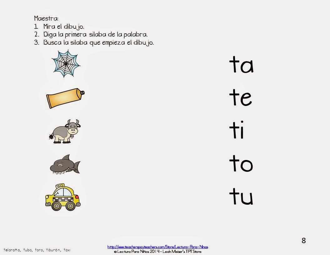 http://www.teacherspayteachers.com/Product/Maravillas-Tema-1-Semana-3-LETRA-T-1495933