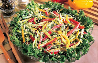 Dilled Pepper Slaw