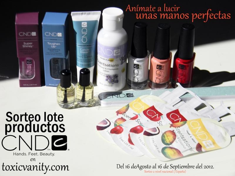 Sorteo Toxic Vanity