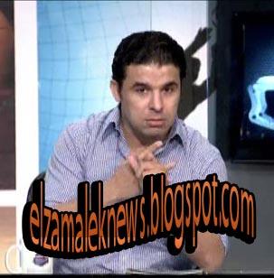 خالد الغندور مقدم برنامج الرياضة اليوم بقناة دريم