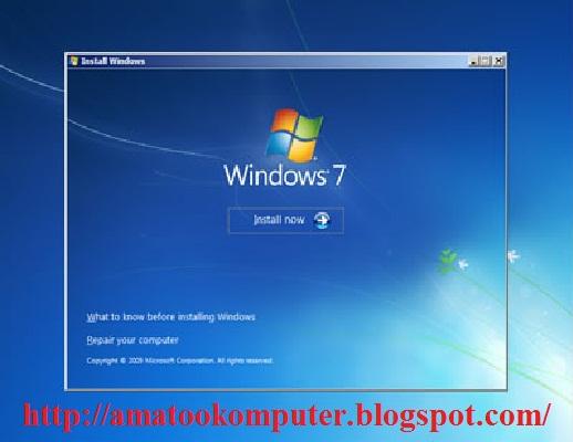 Cara Instal Windows 7 Lengkap 1, Windows 7, Tips Komputer 4
