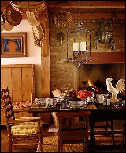 How to decorate a french country kitchen best home for Country themed kitchen ideas