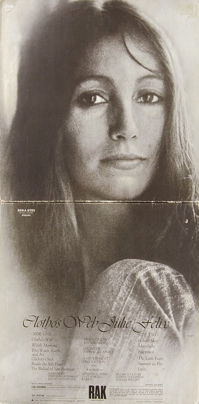 Julie Felix Clotho's Web LP 1972