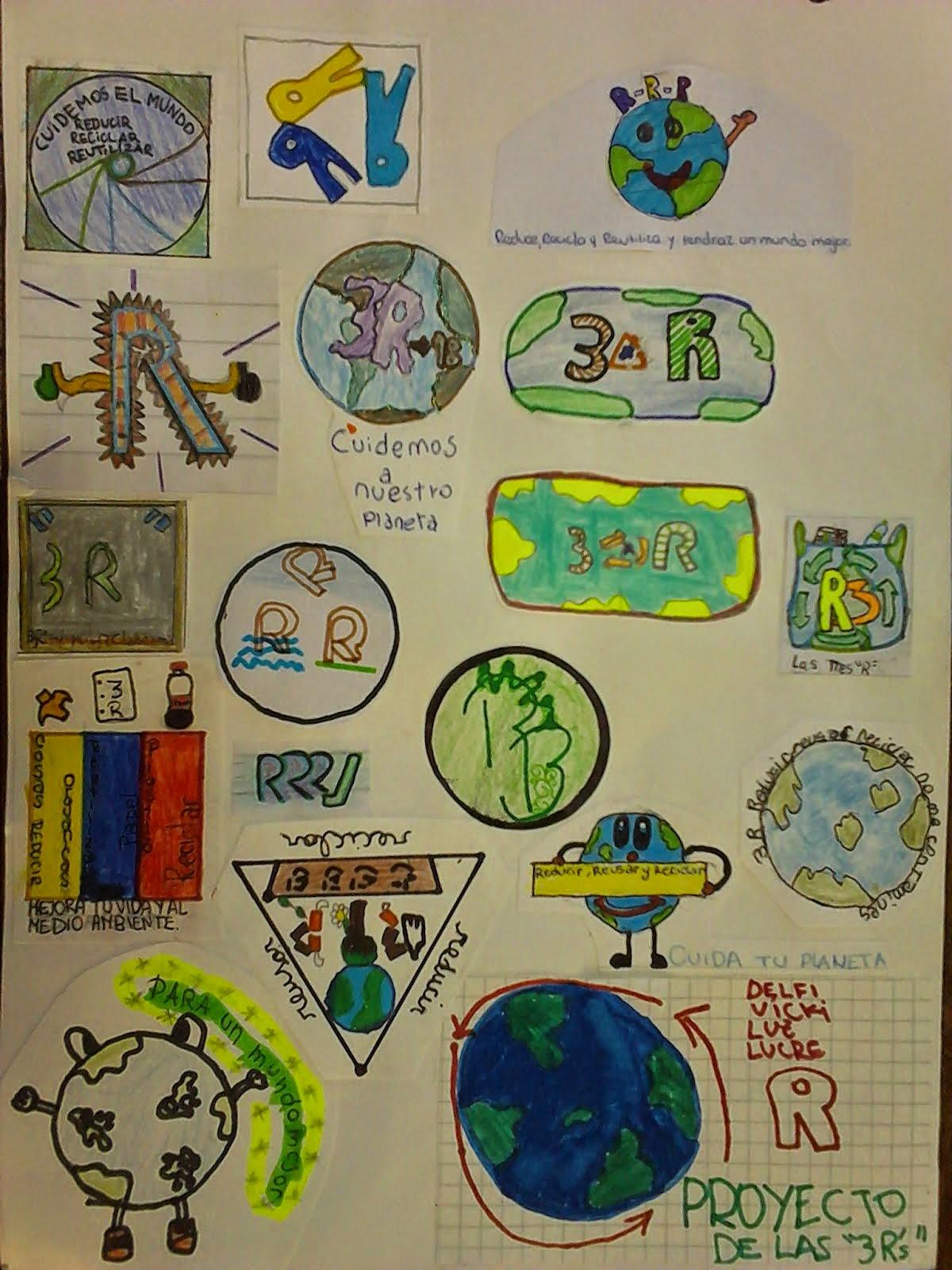 Logos de nuestro Proyecto de las 3R.