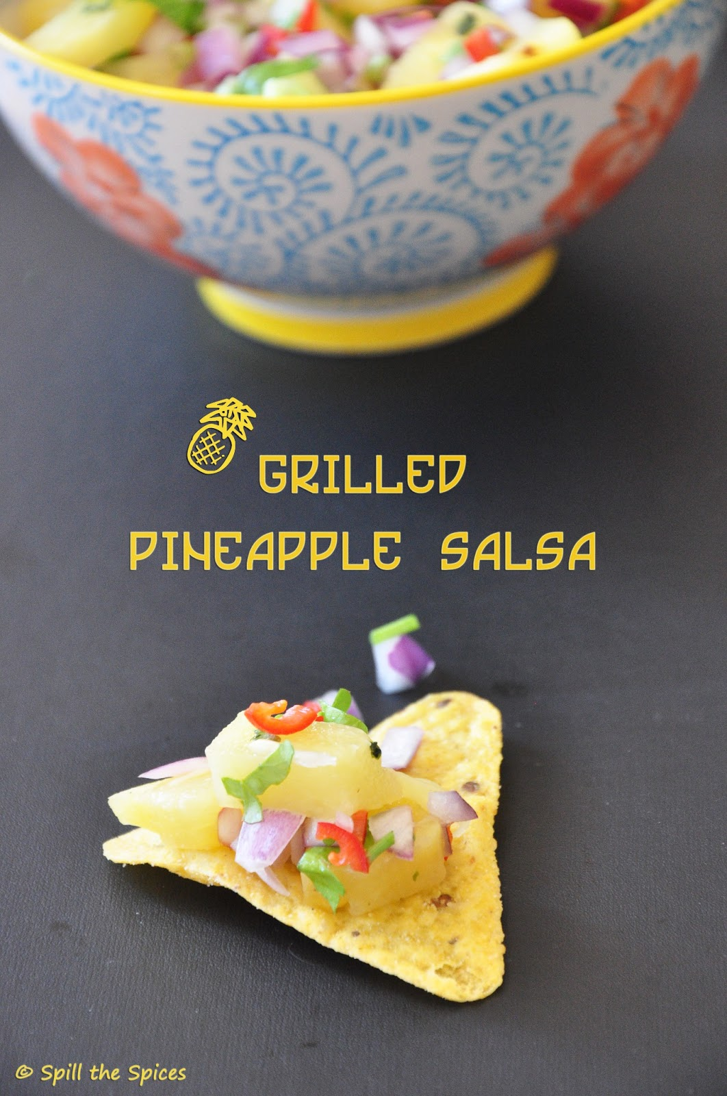 Grilled Pineapple Salsa Recipe — Dishmaps