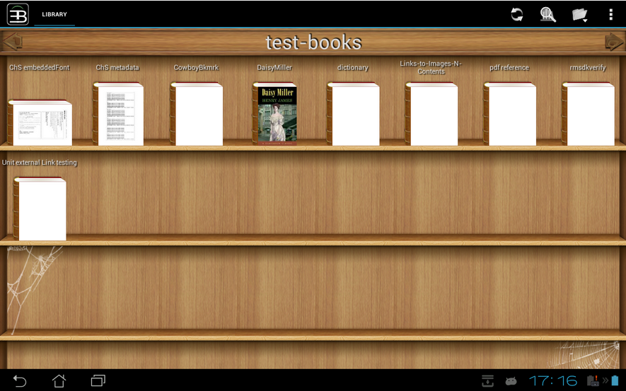 EBookDroid-eBook Reader for Android