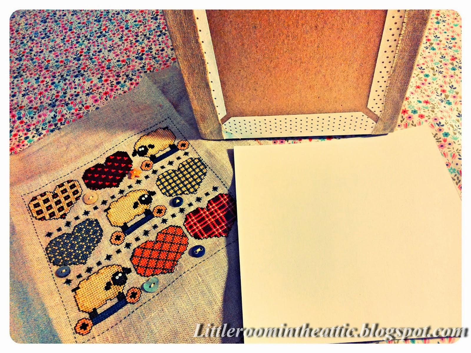Как натянуть вышивку бисером на картон