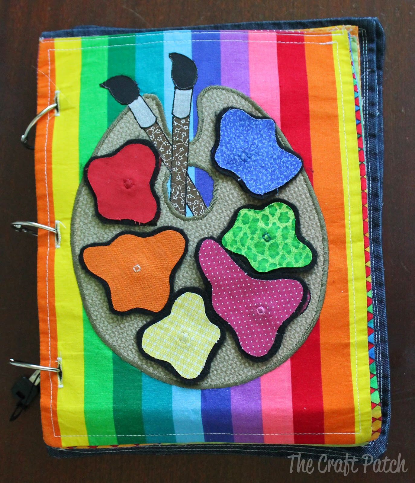 Quiet Book Cover Page Ideas : The craft patch repost fabric quiet book