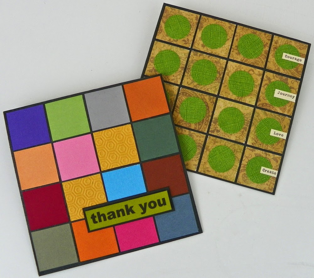 paper mosaic greet cards lisa fulmer
