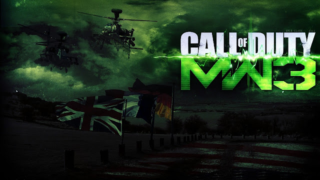MW3 Wallpaper The Beginning Scene