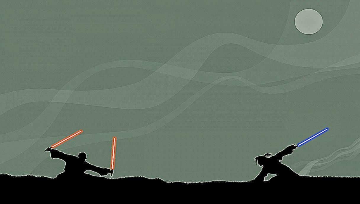 jedi duel wallpaper
