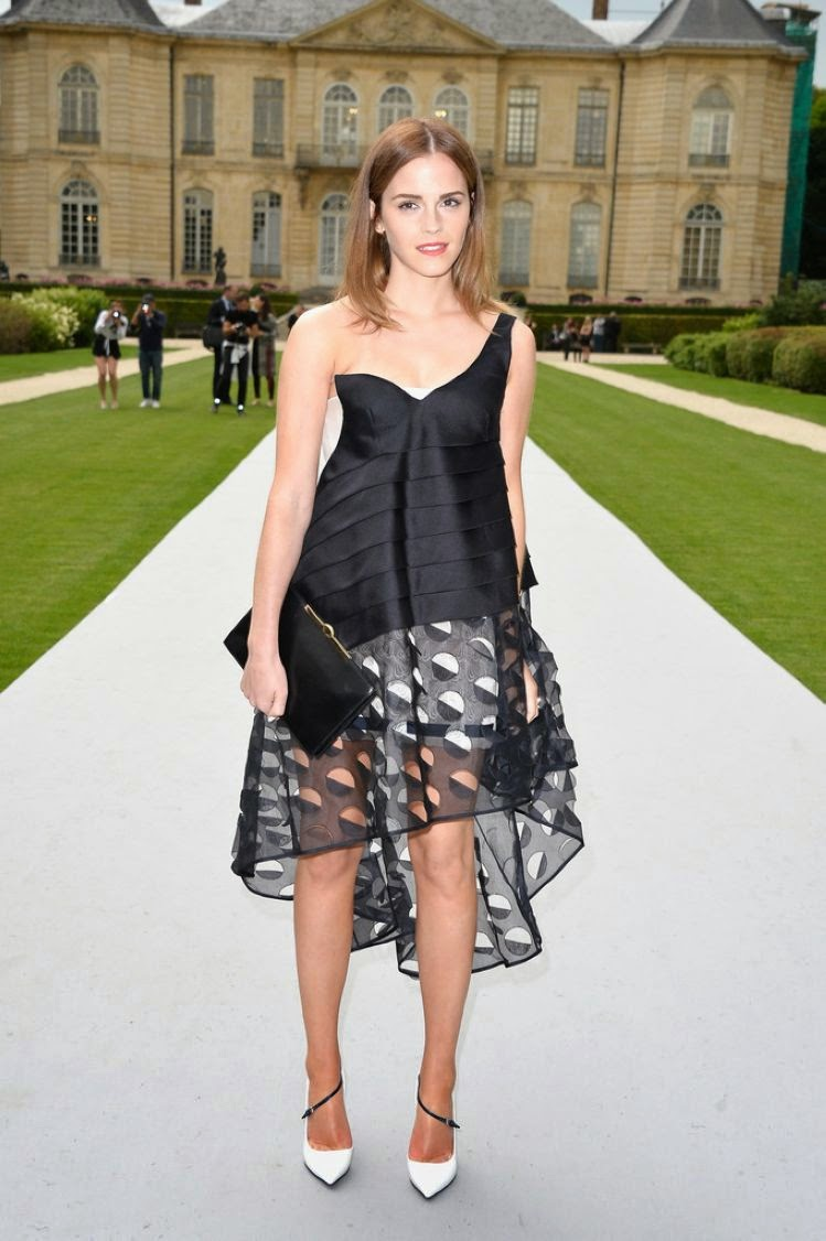 Emma Watson Spicy Photoshoot at Christian Dior Fashion Show