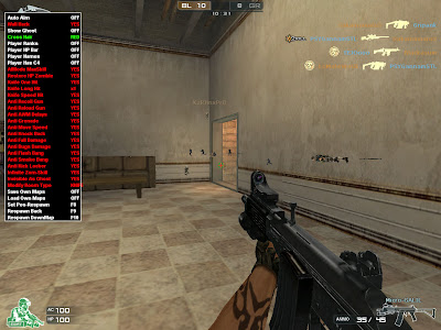 Release 05 Nov 2012 Crossfire + New Tips Bagi Yang Injector saat SKip Ad Error Special D3D MENU FULLHACK Wallhack,Seeghost,Crosshair,Aim Key,ESP Hack,anti lash,anti Smoke,Anti fall damage,Respawn back,ETC WORK ALL OS to Crossfire Indonesia,PHilipina,Braszile,North America,EU,Etc !