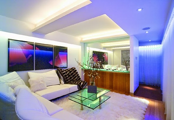 Modern LED Ceiling Light Fixtures And Wall Lighting Ideas