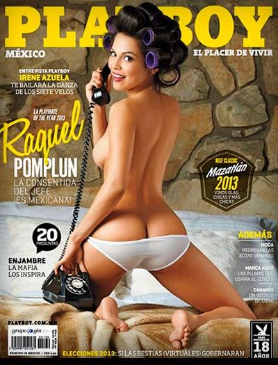 Raquel Pomplun - Playboy México - Agosto 2013