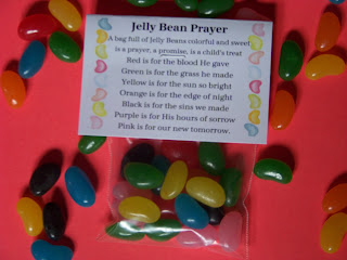 Jelly Bean Prayer and Printable by Kandy Kreations